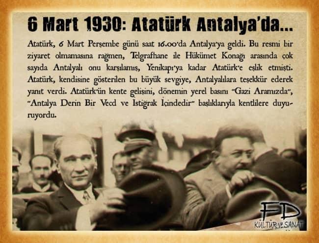 ATAM ANTALYA'MIZA HOŞ GELDİNİZ